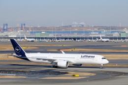 そば小猿さんが、羽田空港で撮影したルフトハンザドイツ航空 A350-941の航空フォト(飛行機 写真・画像)