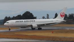 KT 327@KOJさんが、鹿児島空港で撮影した日本航空 767-346/ERの航空フォト(飛行機 写真・画像)