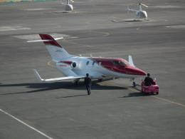 ヒコーキグモさんが、岡南飛行場で撮影した日本法人所有 HA-420の航空フォト(飛行機 写真・画像)