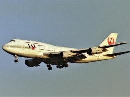 エルさんが、成田国際空港で撮影した日本航空 747-346の航空フォト(飛行機 写真・画像)