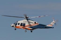 Tony Nishihataさんが、静岡空港で撮影した静岡県消防防災航空隊 AW139の航空フォト(飛行機 写真・画像)