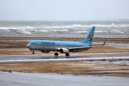 TAKAHIDEさんが、新潟空港で撮影した大韓航空 737-9B5/ER の航空フォト(飛行機 写真・画像)