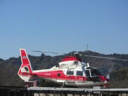チダ.ニックさんが、静岡ヘリポートで撮影した山形県消防防災航空隊 AS365N2 Dauphin 2の航空フォト(飛行機 写真・画像)