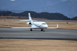 Judy1009さんが、静岡空港で撮影した静岡エアコミュータ Falcon 2000EXの航空フォト(飛行機 写真・画像)