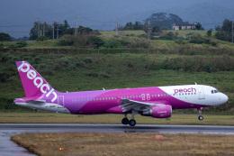 kikiさんが、石垣空港で撮影したピーチ A320-214の航空フォト(飛行機 写真・画像)