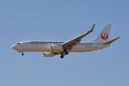 きつねさんが、福岡空港で撮影した日本トランスオーシャン航空 737-8Q3の航空フォト(飛行機 写真・画像)