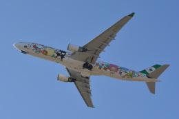 きつねさんが、福岡空港で撮影したエバー航空 A330-302Xの航空フォト(飛行機 写真・画像)