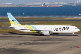 walker2000さんが、羽田空港で撮影したAIR DO 767-381/ERの航空フォト(飛行機 写真・画像)