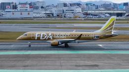 FlyingMonkeyさんが、福岡空港で撮影したフジドリームエアラインズ ERJ-170-200 (ERJ-175STD)の航空フォト(飛行機 写真・画像)
