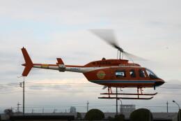 redarrowさんが、群馬ヘリポートで撮影した新日本ヘリコプター 206L-3 LongRanger IIIの航空フォト(飛行機 写真・画像)