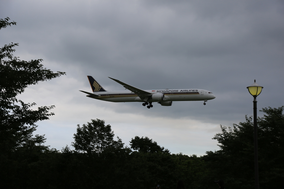 flyskyさんのシンガポール航空 Boeing 787-10 (9V-SCA) 航空フォト