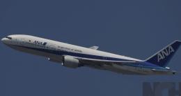 新城 JAL alpha rainbowさんが、伊丹空港で撮影した全日空 777-281の航空フォト(飛行機 写真・画像)