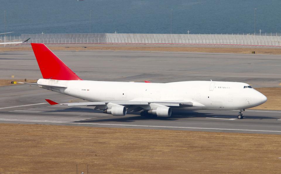 Asamaさんのアエロトランスカーゴ Boeing 747-400 (ER-BBB) 航空フォト