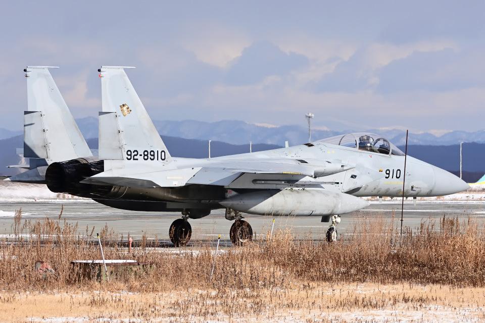 YouKeyさんの航空自衛隊 Mitsubishi F-15J Eagle (92-8910) 航空フォト