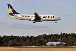ワイエスさんが、鹿児島空港で撮影したスカイマーク 737-8ALの航空フォト(飛行機 写真・画像)