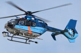 ほてるやんきーさんが、八尾空港で撮影した大阪府警察 EC135P1の航空フォト(飛行機 写真・画像)