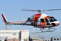 ほてるやんきーさんが、八尾空港で撮影した朝日航洋 AS355Nの航空フォト(飛行機 写真・画像)