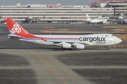 羽田空港 - Tokyo International Airport [HND/RJTT]で撮影されたカーゴルクス・イタリア - Cargolux Italia [ICV]の航空機写真