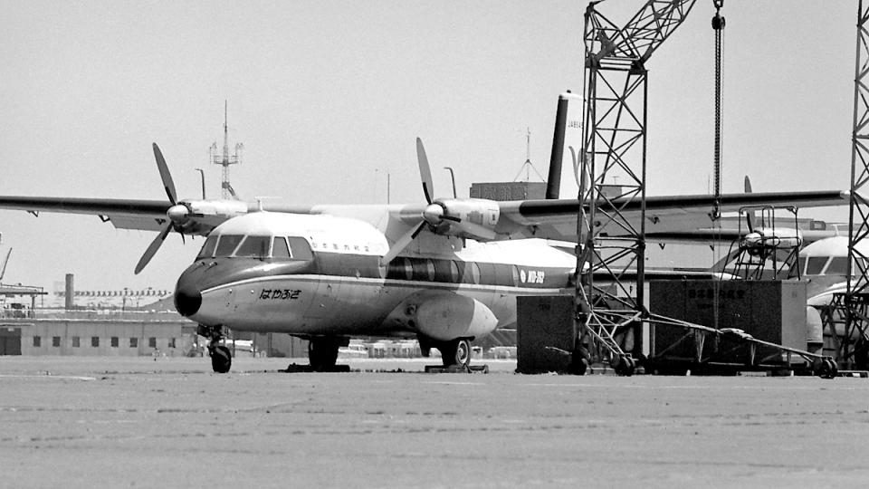 wetwingさんの日本国内航空 Nord 262 (JA8646) 航空フォト
