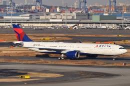 Flying A340さんが、羽田空港で撮影したデルタ航空 A330-941の航空フォト(飛行機 写真・画像)