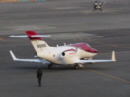 F.YUKIHIDEさんが、岡南飛行場で撮影したウィルミントン・トラスト・カンパニー HA-420の航空フォト(飛行機 写真・画像)