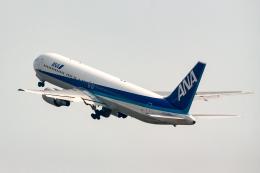 xingyeさんが、羽田空港で撮影した全日空 767-381の航空フォト(飛行機 写真・画像)