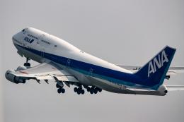 xingyeさんが、羽田空港で撮影した全日空 747-481(D)の航空フォト(飛行機 写真・画像)