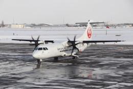 T_pontaさんが、札幌飛行場で撮影した北海道エアシステム ATR-42-600の航空フォト(飛行機 写真・画像)