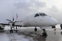 T_pontaさんが、函館空港で撮影した北海道エアシステム 340B/Plusの航空フォト(飛行機 写真・画像)