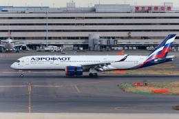 多摩川崎2Kさんが、羽田空港で撮影したアエロフロート・ロシア航空 A350-941の航空フォト(飛行機 写真・画像)