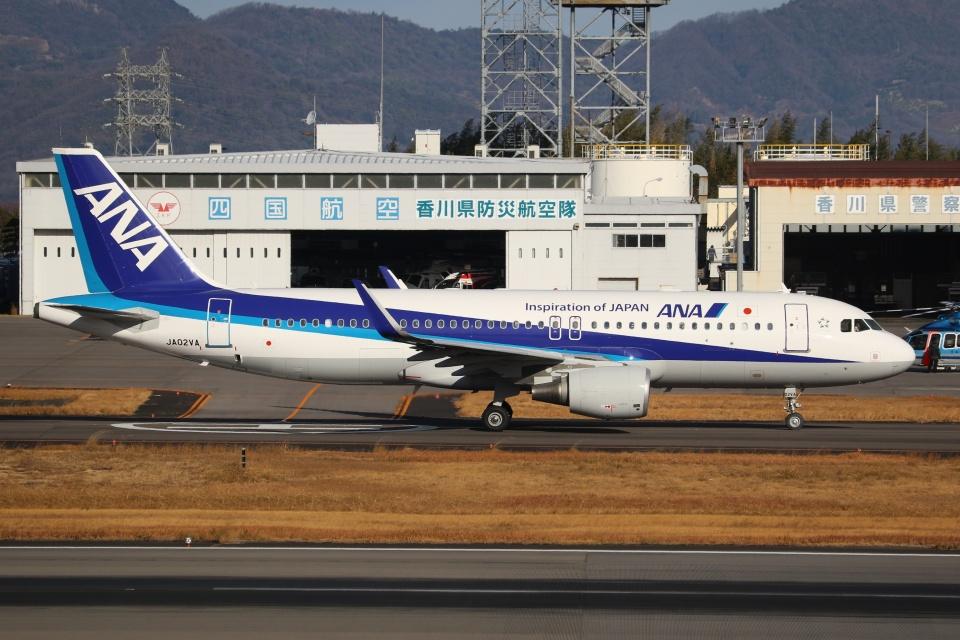ぽんさんの全日空 Airbus A320 (JA02VA) 航空フォト