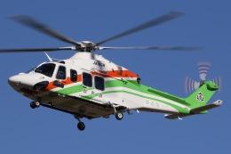 きりしまさんが、龍ケ崎飛行場で撮影した群馬県防災航空隊 AW139の航空フォト(飛行機 写真・画像)