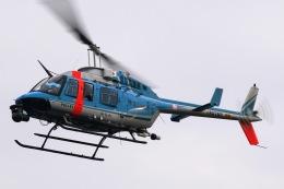 きりしまさんが、横浜ヘリポートで撮影した神奈川県警察 206L-4 LongRanger IVの航空フォト(飛行機 写真・画像)