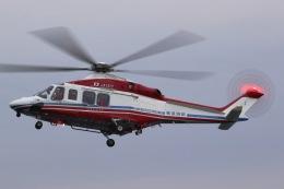 きりしまさんが、横浜ヘリポートで撮影した横浜市消防航空隊 AW139の航空フォト(飛行機 写真・画像)