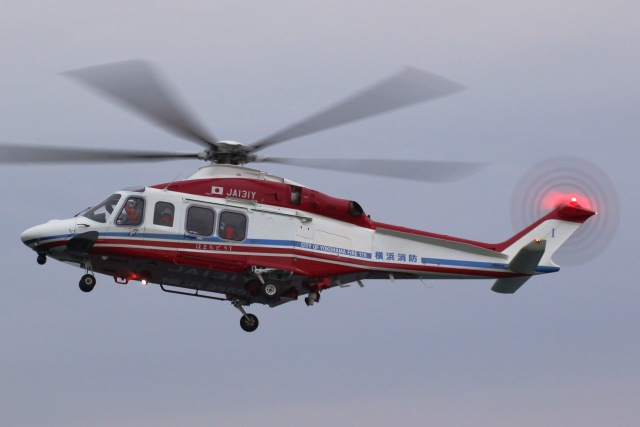 横浜ヘリポート - Yokohama Heliportで撮影された横浜ヘリポート - Yokohama Heliportの航空機写真