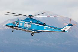 (新)ふぁんとむ改さんが、鹿児島空港で撮影した三井物産エアロスペース AW139の航空フォト(飛行機 写真・画像)