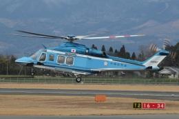 MOR1(新アカウント)さんが、鹿児島空港で撮影した沖縄県警察 AW139の航空フォト(飛行機 写真・画像)