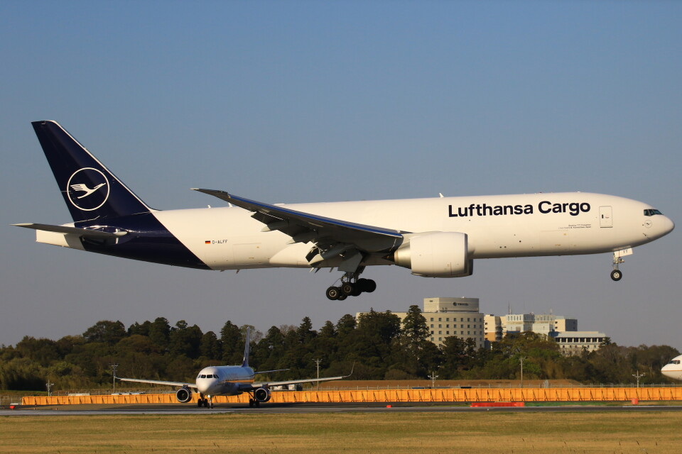三軒 那乃さんのルフトハンザ・カーゴ Boeing 777-200 (D-ALFF) 航空フォト