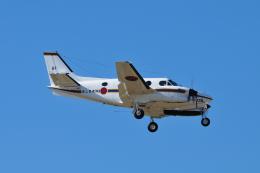 masahiさんが、厚木飛行場で撮影した海上自衛隊 LC-90 King Air (C90)の航空フォト(飛行機 写真・画像)