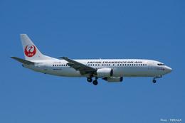 那覇空港 - Naha Airport [OKA/ROAH]で撮影された日本トランスオーシャン航空 - Japan Transocean Air [NU/JTA]の航空機写真