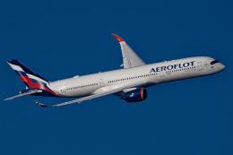 Lacnorさんが、羽田空港で撮影したアエロフロート・ロシア航空 A350-941の航空フォト(飛行機 写真・画像)