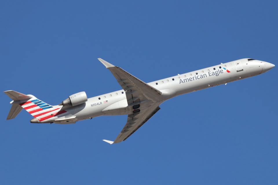 キャスバルさんのメサ・エアラインズ Bombardier CRJ-900 (N954LR) 航空フォト