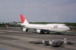 xingyeさんが、成田国際空港で撮影した日本航空 747-446の航空フォト(飛行機 写真・画像)