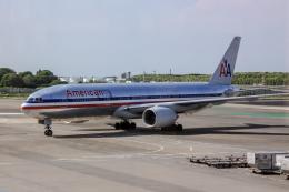 xingyeさんが、成田国際空港で撮影したアメリカン航空 777-223/ERの航空フォト(飛行機 写真・画像)
