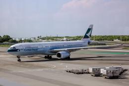 xingyeさんが、成田国際空港で撮影したキャセイパシフィック航空 A330-342の航空フォト(飛行機 写真・画像)