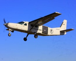 VICTER8929さんが、ホンダエアポートで撮影したエビエーションサービス 208B Grand Caravanの航空フォト(飛行機 写真・画像)