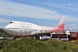 こじゆきさんが、プーケット国際空港で撮影したロシア航空 747-446の航空フォト(飛行機 写真・画像)