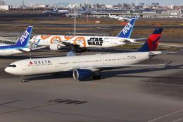 kinsanさんが、羽田空港で撮影したデルタ航空 A330-941の航空フォト(飛行機 写真・画像)