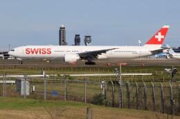 メンチカツさんが、成田国際空港で撮影したスイスインターナショナルエアラインズ 777-3DE/ERの航空フォト(飛行機 写真・画像)