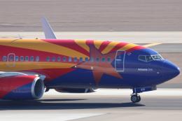 キャスバルさんが、フェニックス・スカイハーバー国際空港で撮影したサウスウェスト航空 737-7H4の航空フォト(飛行機 写真・画像)
